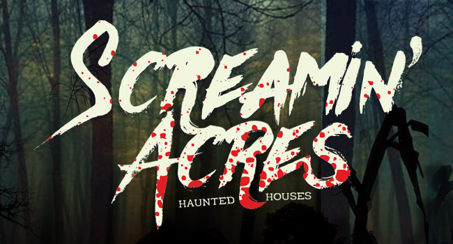 Screamin Acres haunted house in Stoughton WI