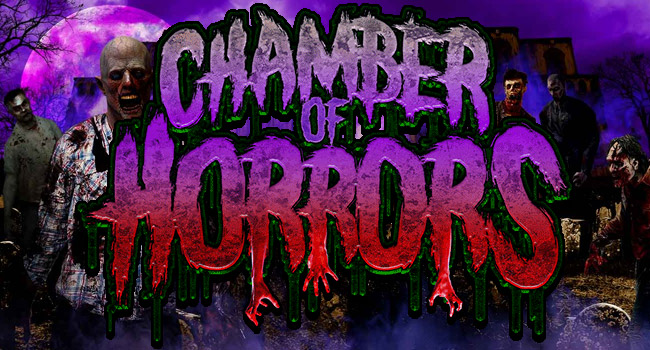 Chamber of Horrors haunted house in Fall River, WI