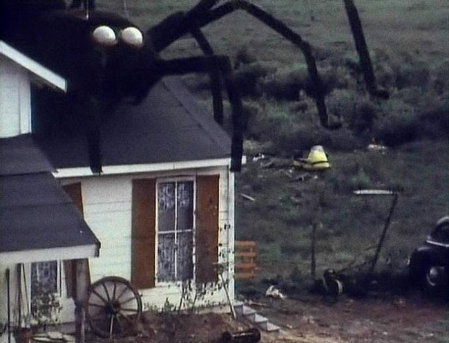 The Giant Spider Invasion filmed in Merrill, WI