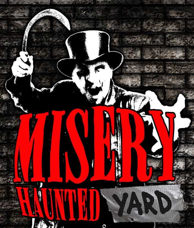 Misery haunted house in Neenah, WI