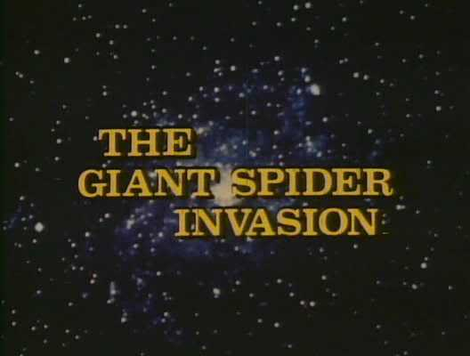 The Giant Spider Invasion opening title