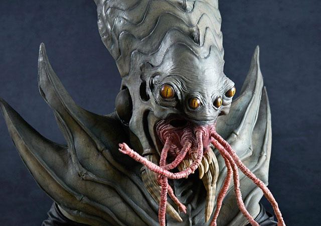 Amphibious alien halloween costume