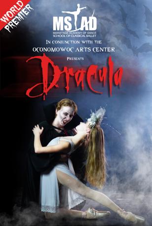 Dracula ballet this Halloween at the Oconomowoc Arts Center