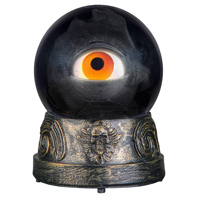 Crystal ball with animated eye Halloween decoration