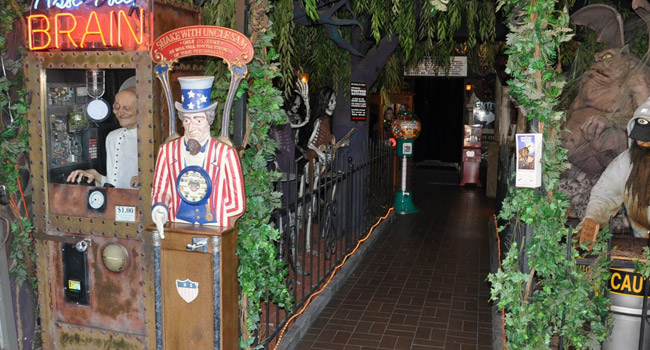 The Haunted Mansion in Wisconsin Dells