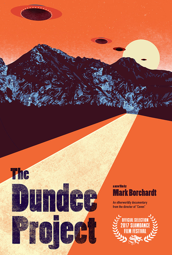 Poster for The Dundee Project documentary directed by Mark Borchardt